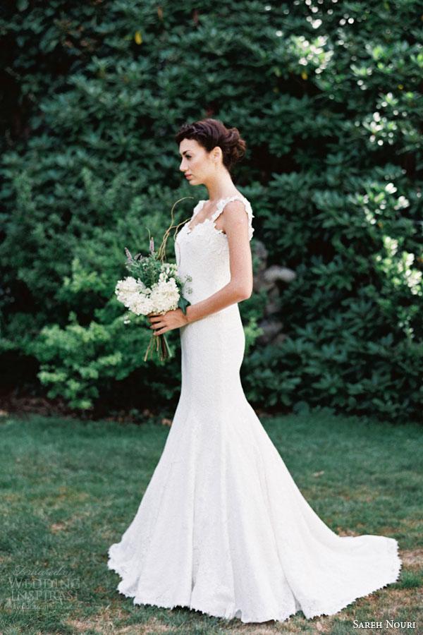 sareh nouri bridal fall 2015 florentine mermaid wedding dress guipure