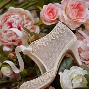 Bhldn Spring 2015 Bridal Cap Sleeves Jewel Neckline Blush Short Wedding Dress Emelia Wedding