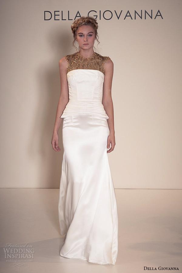 Cotton Wedding Dress 3 Fabulous della giovanna wedding dress