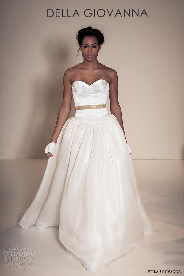 White Silk Wedding Dress 15 Ideal della giovanna wedding dress