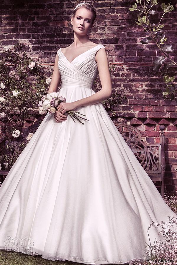 Ellis Bridal 2015  ball gown wedding dress