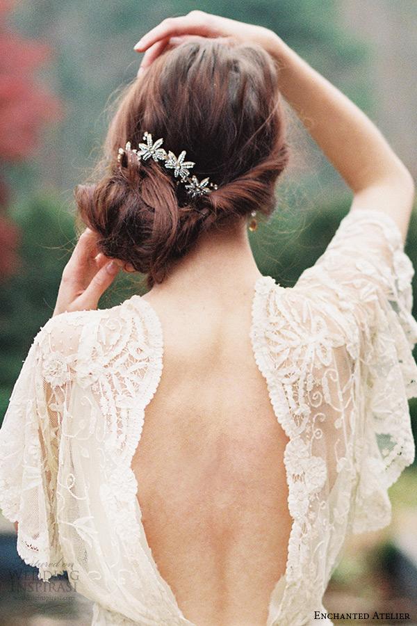 enchanted atelier liv hart bridal jewelry wedding accessories swarovski crystals flora comb headpiece georgine
