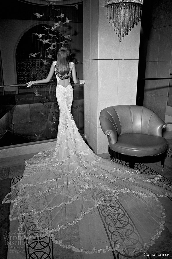 Galia lahav fall 2015 wedding dresses tales of the jazz for Heart shaped mermaid wedding dresses