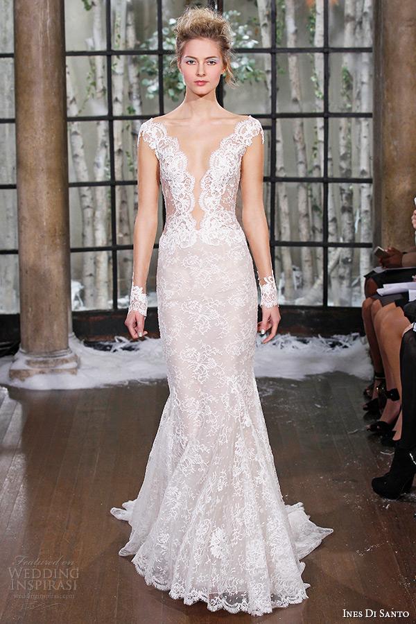 Ines Di Santo Fall/Winter 2015 Wedding Dresses — Couture Bridal ...