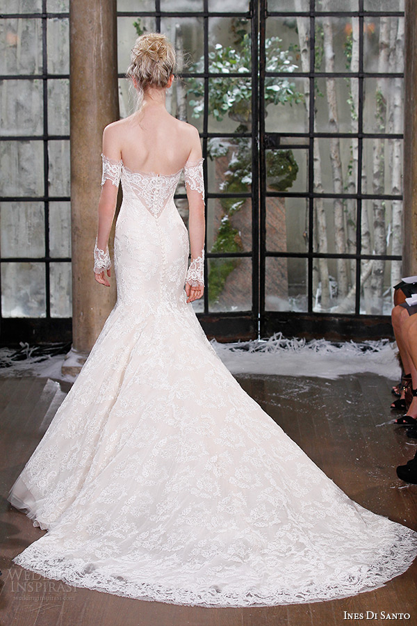 Cathedral Train Wedding Dress 49 Spectacular ines di santo fall