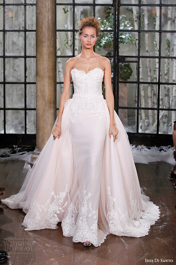 Ines Di Santo Fall/Winter 2015 Wedding Dresses - BridalPulse