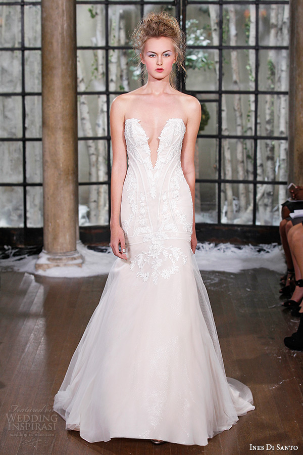 Ines Di Santo Fall Winter 2015 Wedding Dresses Couture