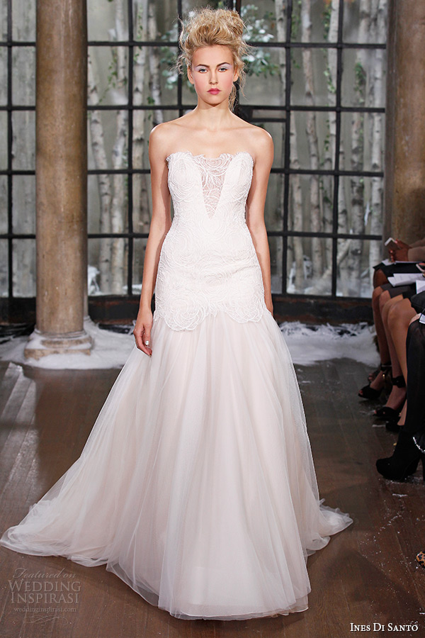 Ines Di Santo Fall/Winter 2015 Wedding Dresses - BridalPulse