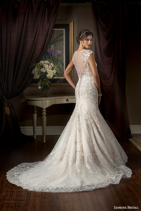 Jasmine Couture Spring 2015 Bridal Collection Highlights