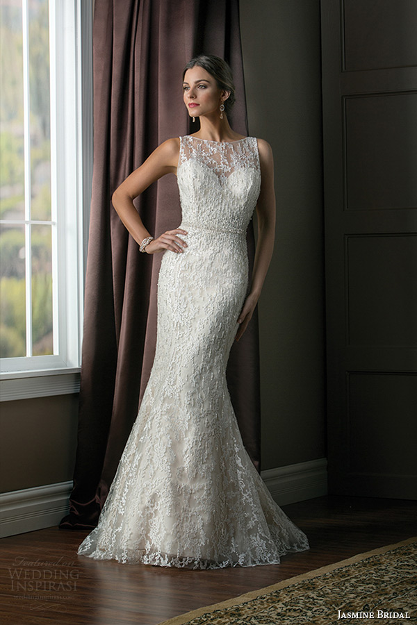 Lace Wedding Dress With Keyhole Back 7 Best jasmine bridal wedding dress
