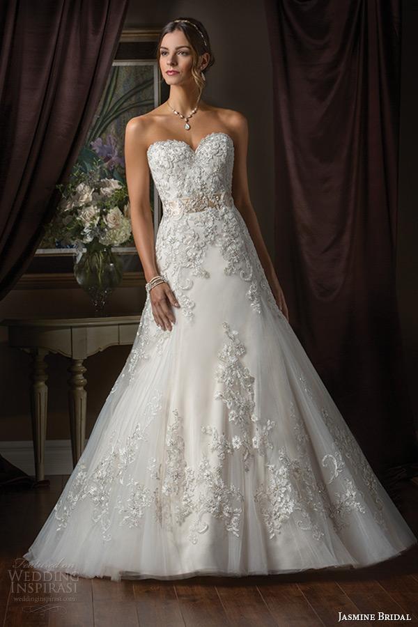 Jasmine Bridal 2015 wedding dress