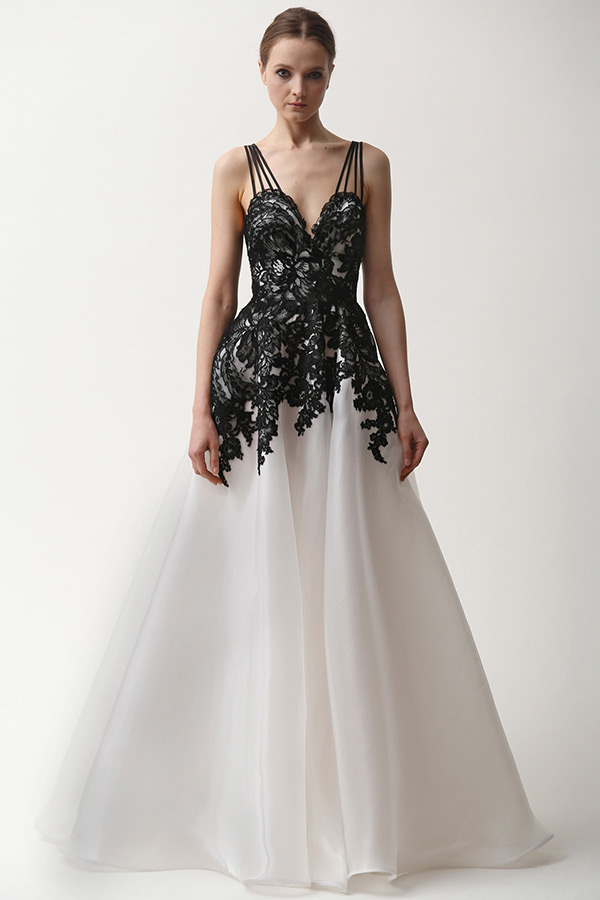 naeem khan prefall 2015 couture dresses a line gown