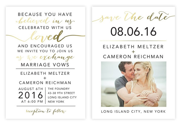 The Golden Touch Mint and Blush Wedding Palette with Gilded Accents