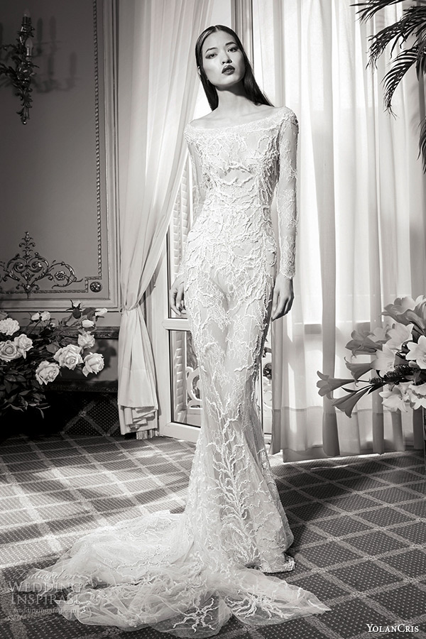 Winter Wedding Gowns With Sleeves 53 Marvelous yolancris bridal fall haute