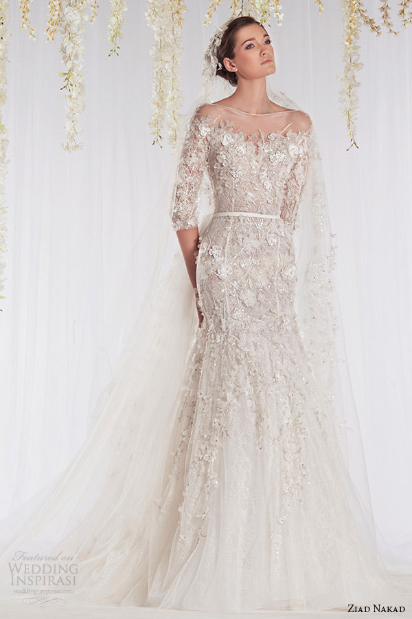 Ziad Nakad 2015 Wedding Dresses — The White Realm Bridal Collection ...