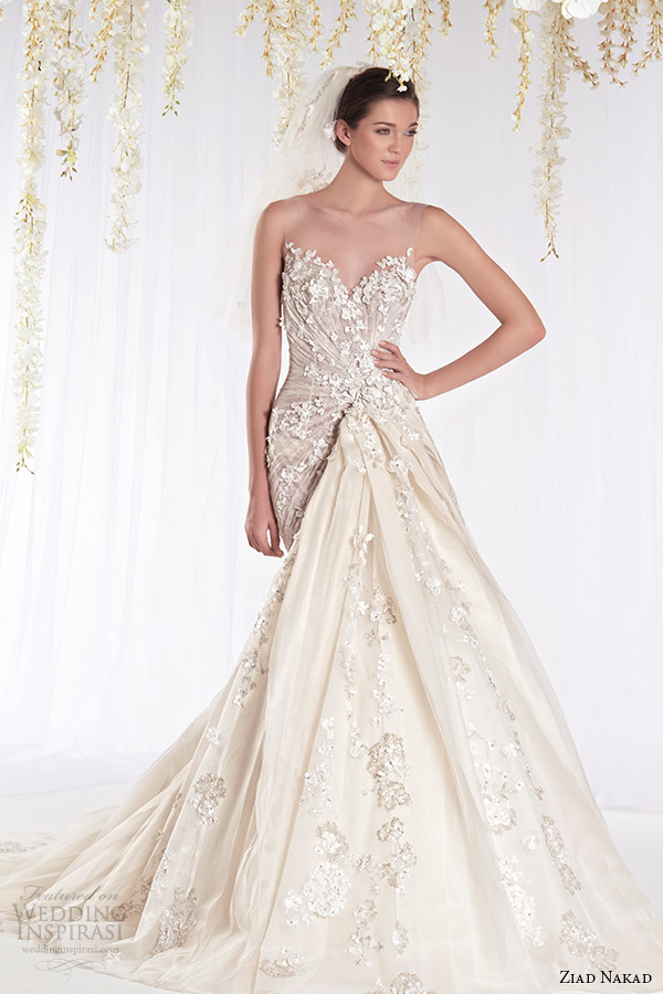 Ziad nakad 2015 wedding dresses the white realm bridal for Ziad nakad wedding dresses prices