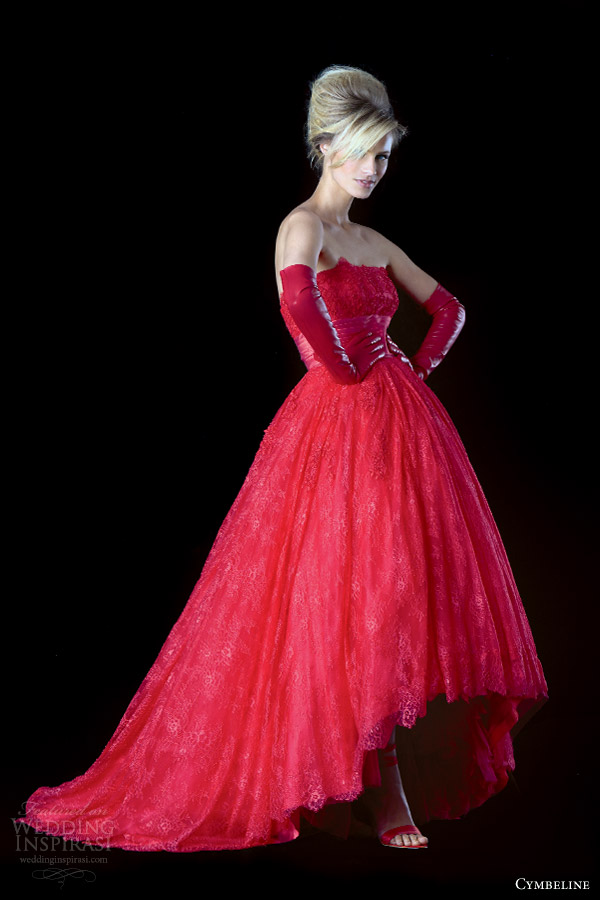 Red Wedding Dresses Cheap 80 New cymbeline bridal ionesco red