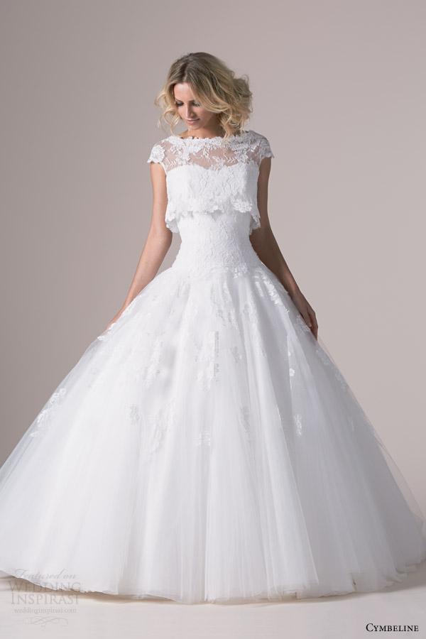 Cymbeline bridal 2015 wedding dresses wedding inspirasi for Drop sleeve wedding dress
