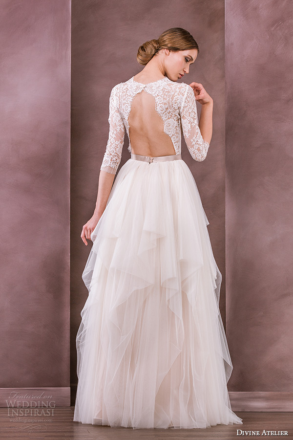 Layered Wedding Dress With Sleeves : Wedding dresses nostalgia bridal collection inspirasi