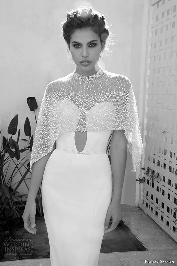 Wedding Gown With Bolero 5 Vintage elihav sasson wedding dress