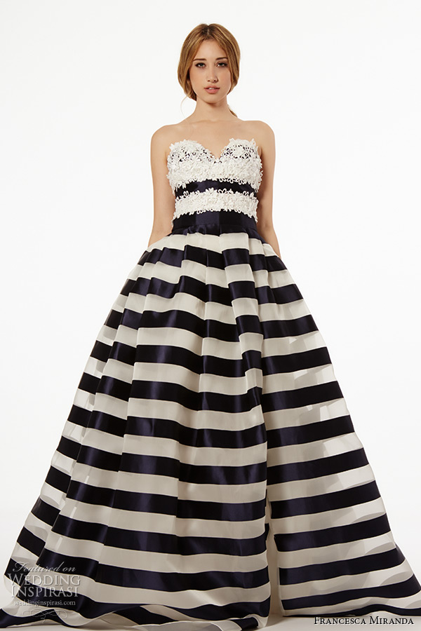 Striped Gown