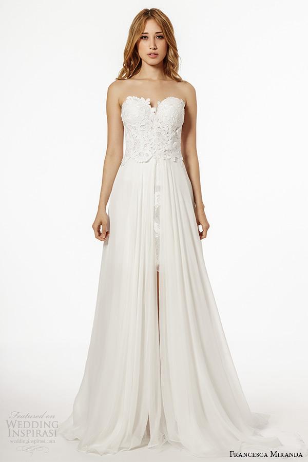 Francesca miranda fall 2015 wedding dresses wedding inspirasi