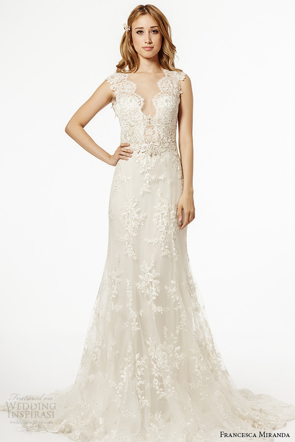Francesca Miranda Fall 2015 Wedding Dresses | Wedding Inspirasi