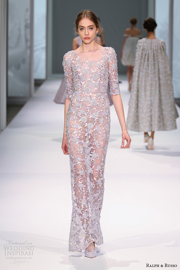 Ralph Amp Russo Spring 2015 Couture Collection Wedding Inspirasi