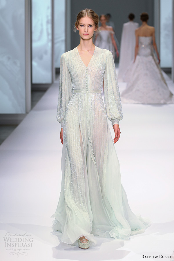 Ralph russo spring 2015 couture collection wedding for Ralph and russo wedding dress