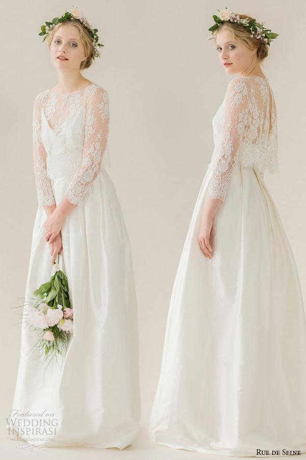 Wedding Dress Suppliers 26 Simple rue de seine wedding