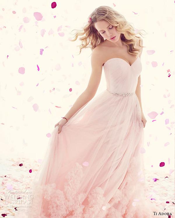 ti adora weding primavera vestido 2015 net Inglês um decote cinto de cristal vestido drapeado linha de cintura natural 7511 sanise