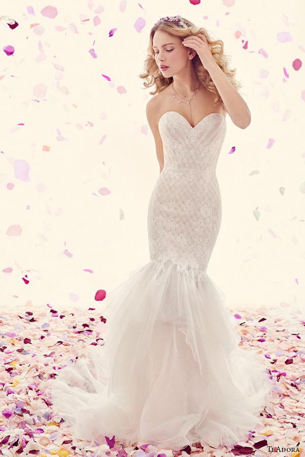 Fit N Flare Wedding Dresses 80 Fresh ti adora weding dress