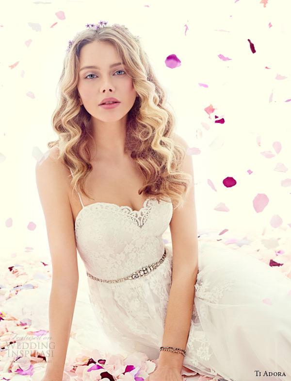 ti adora weding vestido primavera 2015 spagetti cinta decote um casamento linha vestido 7500 esme