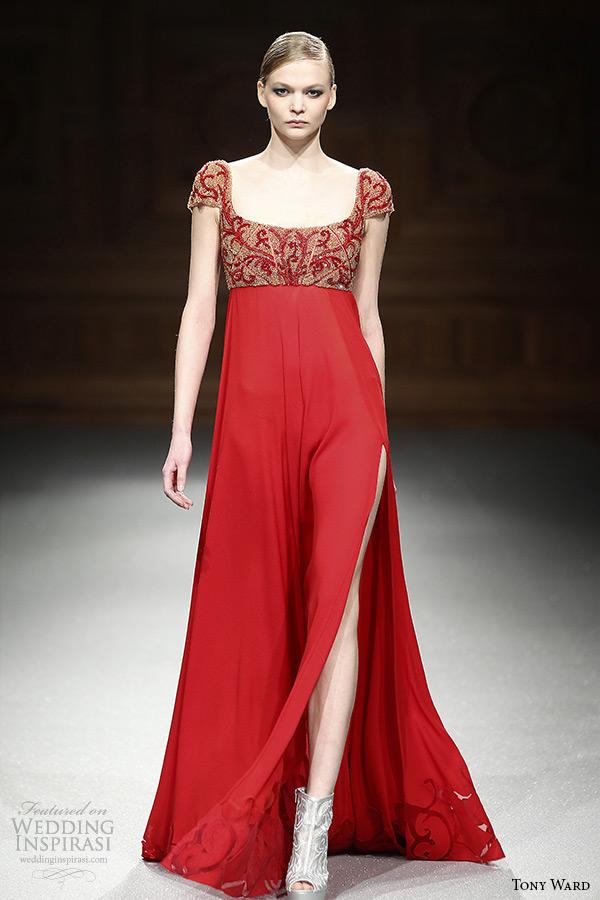 Tony Ward Spring 2015 Couture Collection Wedding Inspirasi