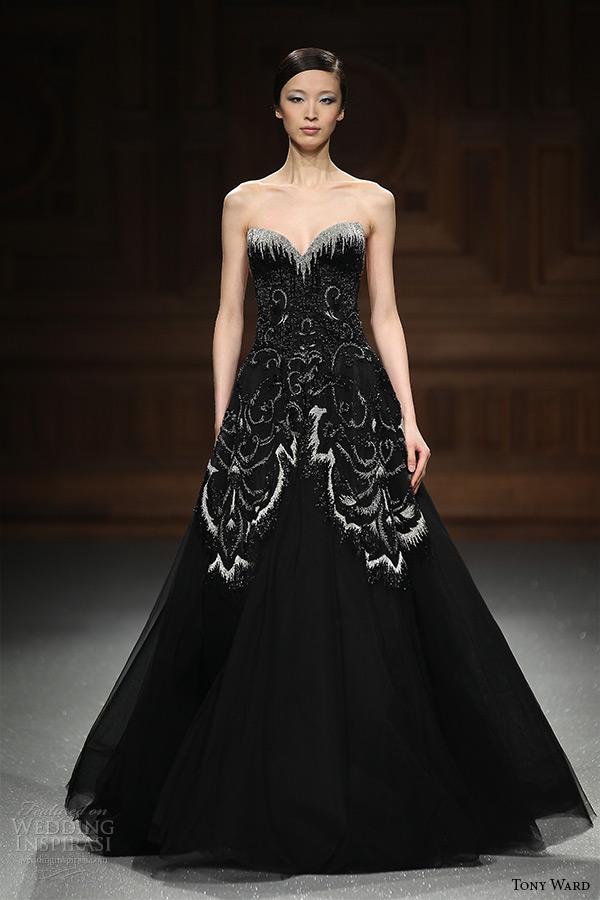 Black Dress Wedding 43 Perfect tony ward couture spring