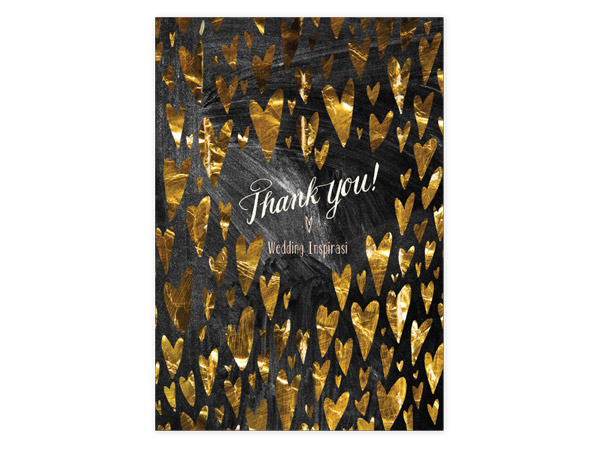 February Everythings Gone HeartShaped – Wedding Paper Divas Thank You Cards