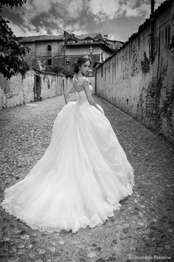Wedding Dresses With Illusion Bodice : Alessandra rinaudo wedding dresses inspirasi