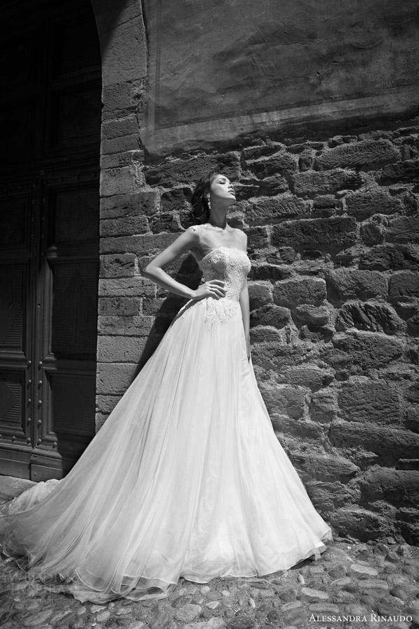 alessandra rinaudo bridal 2015 stella cap sleeve wedding dress illusion cap sleeve bodice full a line or ball gown silhouette
