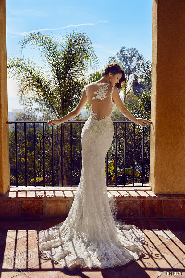 bhldn spring 2015 wedding dresses hollywood flora lace strap v neckline illusion lace back ivory modified a line gown briar rose back