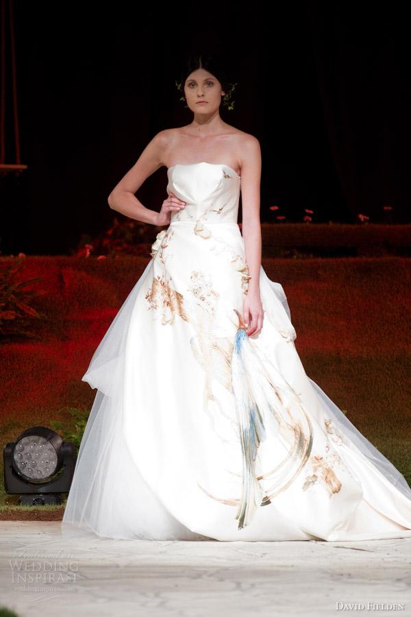 David fielden 2015 wedding dresses wedding inspirasi David s bridal strapless wedding dress