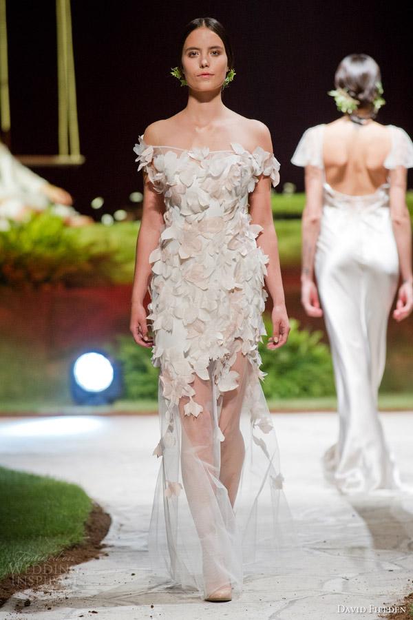 Avant Garde Wedding Dress 20 Spectacular david fielden bridal off