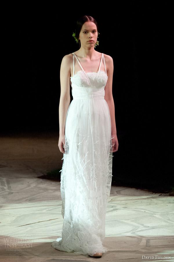 David Fielden 2017 Bridal 8359 Sleeveles D Wedding Dress Double Strap