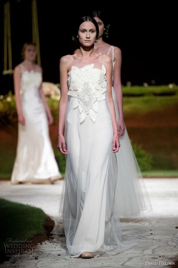 David Fielden 2017 Bridal 8362 Strapless Wedding Dress