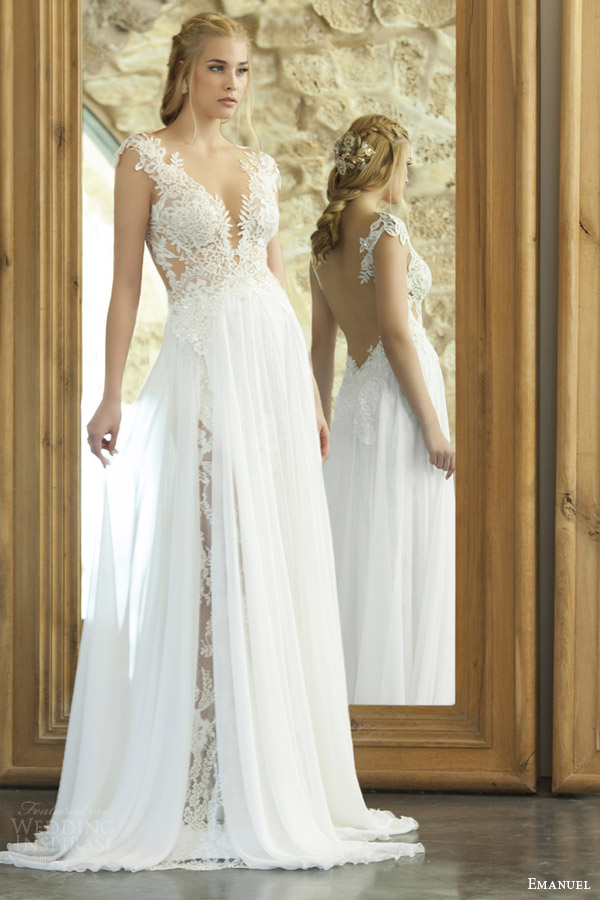 Top 100 most popular wedding dresses in 2015 part 2 for Romantic ethereal wedding dresses