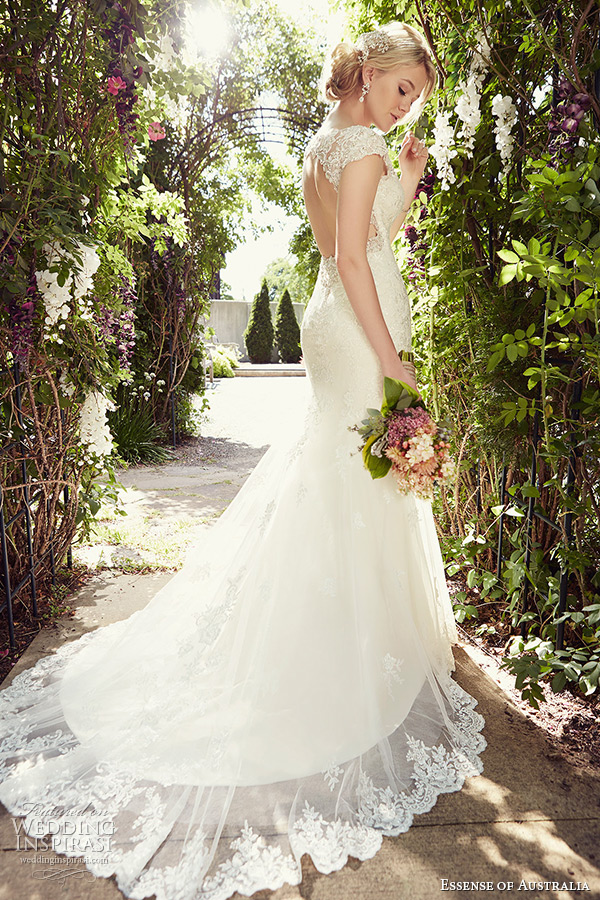 Essense of australia 2015 wedding dresses wedding inspirasi A line lace wedding dress australia