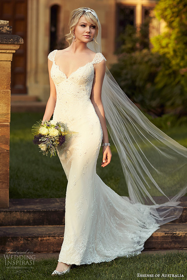 Essense of australia 2015 wedding dresses wedding inspirasi for V neck wedding dresses australia