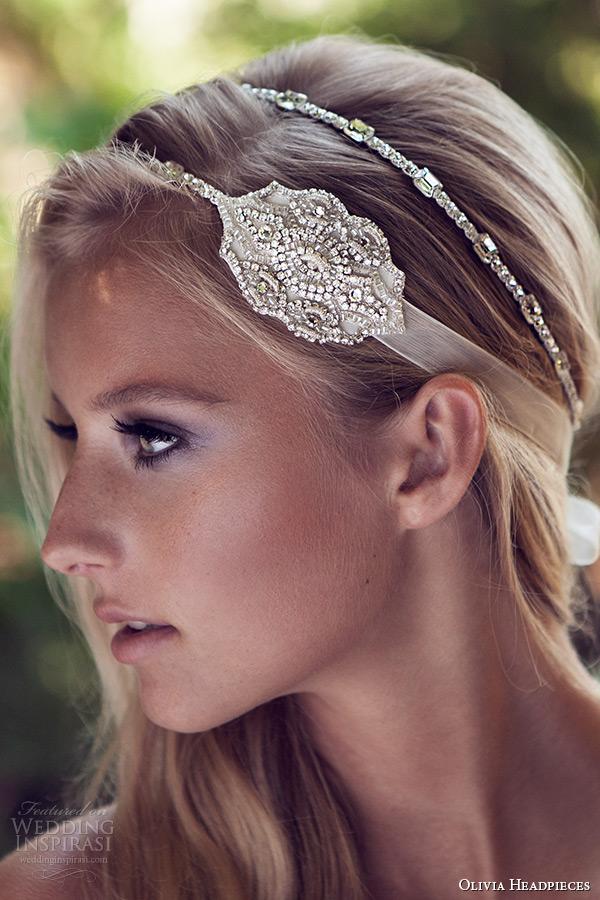 Head Band Wedding 41 Ideal olivia headpieces wedding bridal