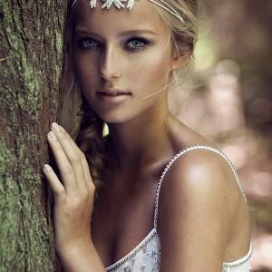 olivia headpieces 2015 wedding bridal cupchain double strands headband swarovski crystals style willow