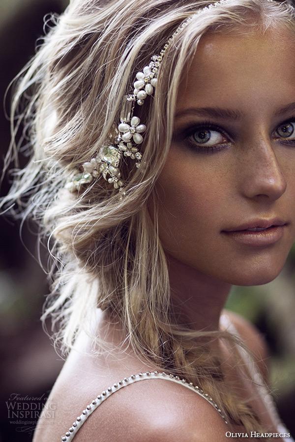 olivia headpieces 2015 wedding bridal cupchain headband chain swarovski crystals pearls style winona