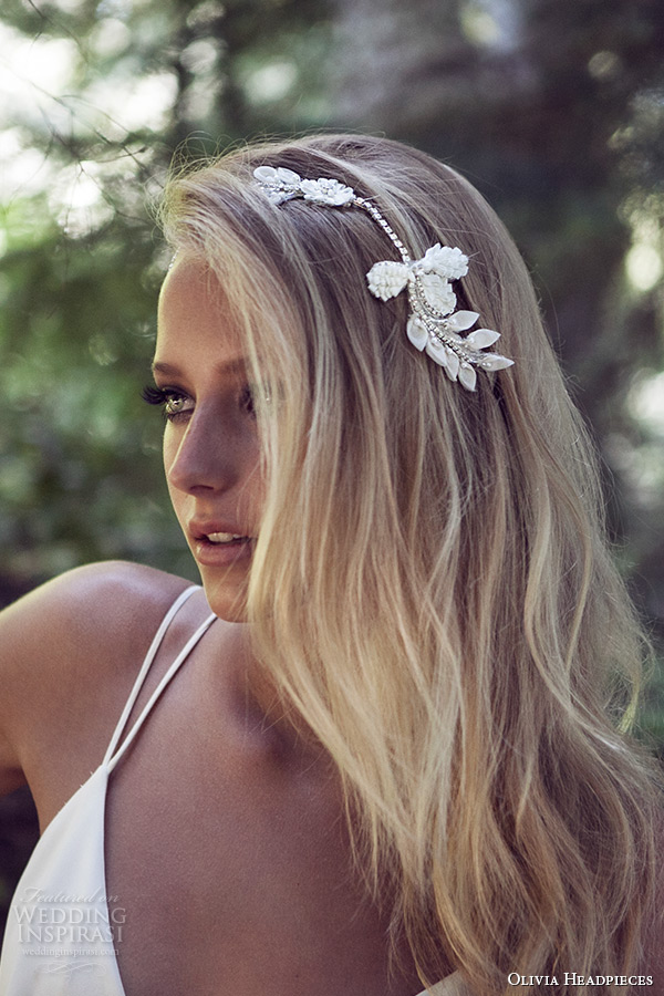 Olivia Headpieces W Label Bridal Hair Accessories